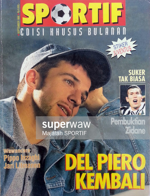 Majalah SPORTIF DEL PIERO