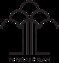 Logo Kementerian Hukum dan HAM RI BW