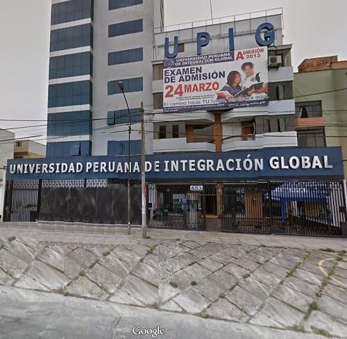 Universidad Peruana de Integración Global - UPIG