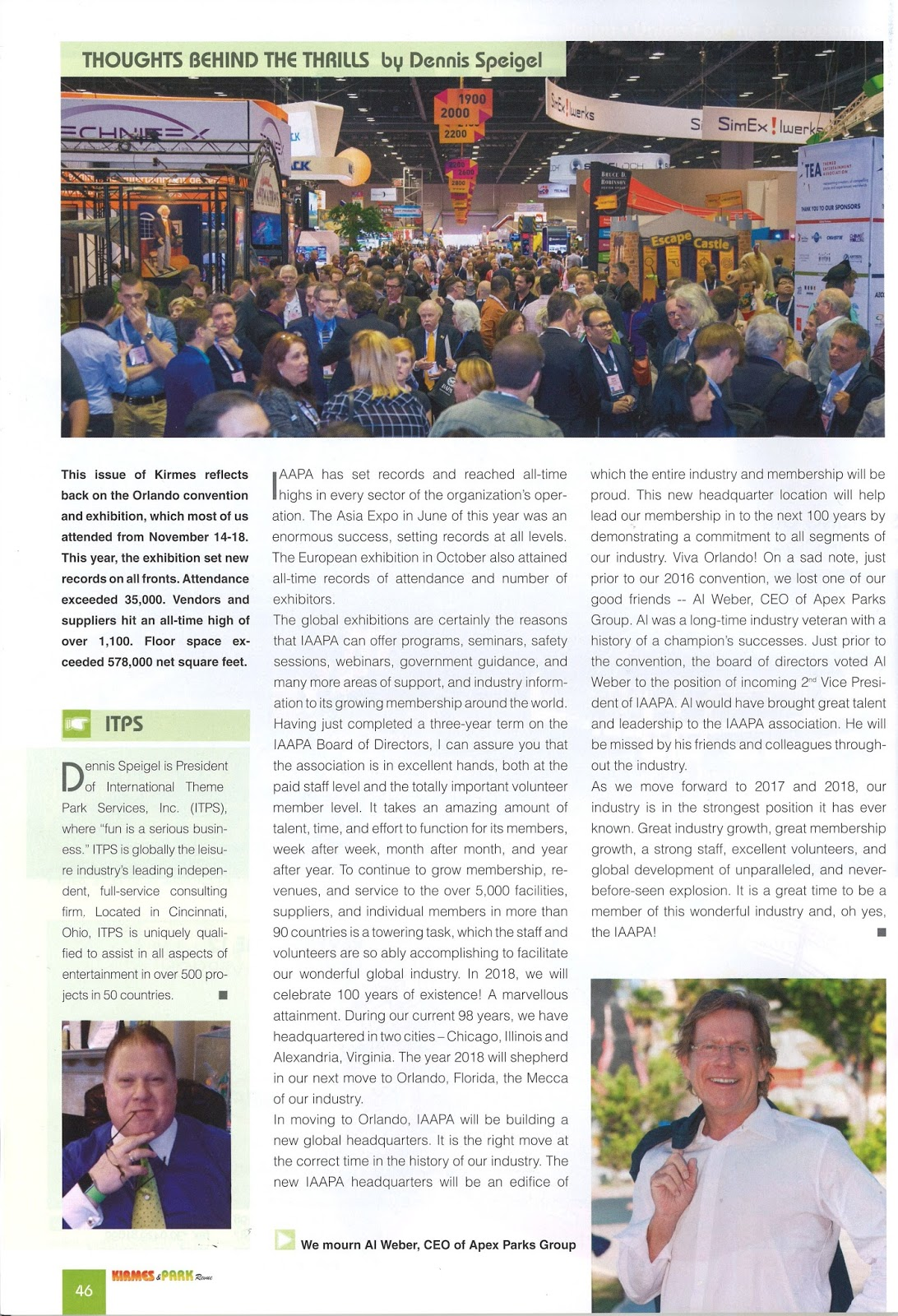 Kirmes - Thoughts Behind the Thrills - IAAPA Review | Articles by