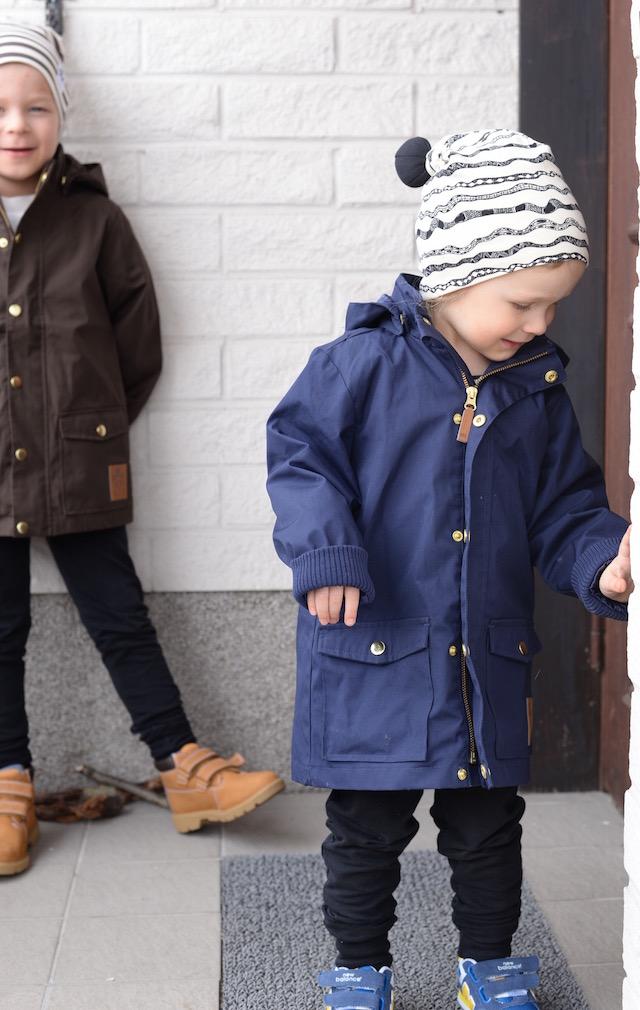 Vanhempi pieni mies  Takki Mini Rodini cf169e39d1