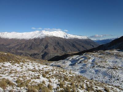 Vistas desde Cardrona, Nueva Zelanda