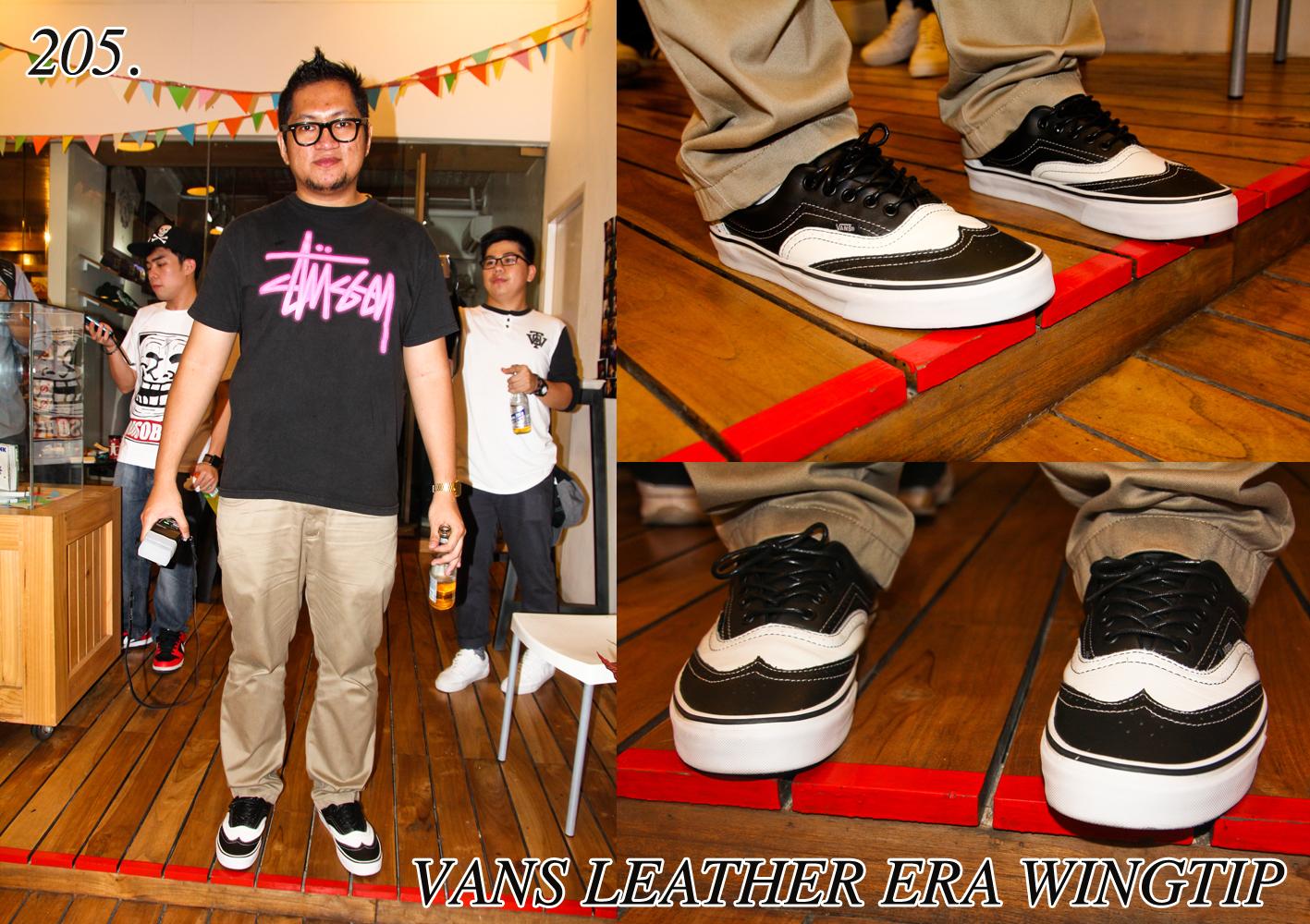 Astron Sneaker Hunts  205. Vans Leather Era Wingtip