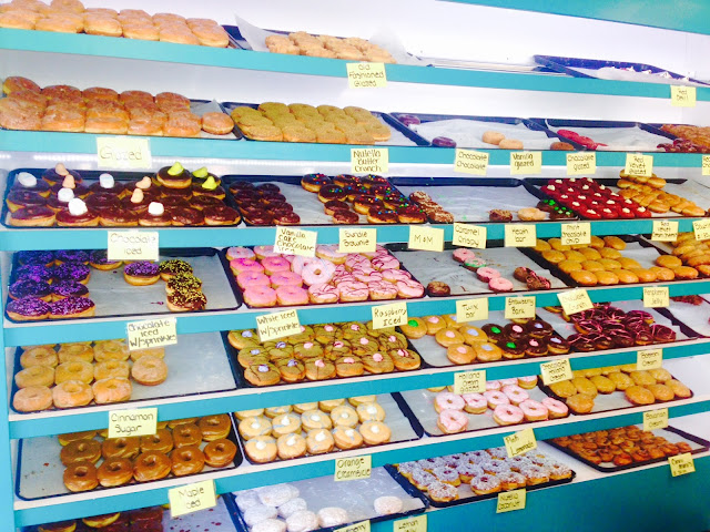 Donut shop selection