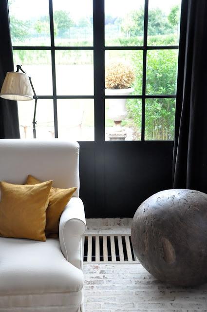 Breathtaking Belgian home of Greet Lefevre - found on Hello Lovely Studio