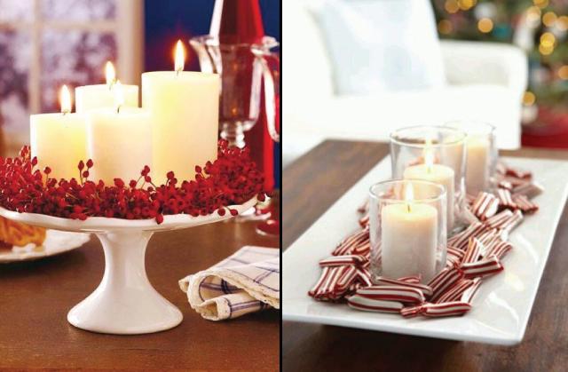 Ideas para decorar tu mesa esta Navidad Pink Chick