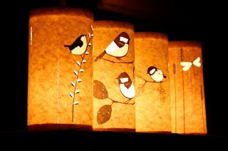 Membuat Lampion Dari Kertas minyak