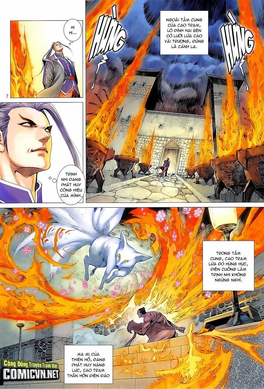 Chiến Phổ chapter 4: mị hồ ngự hỏa trang 6