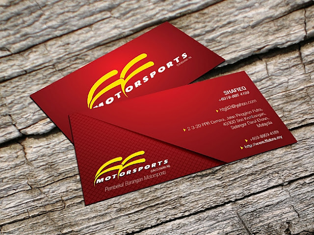 design business card kreatif dan murah