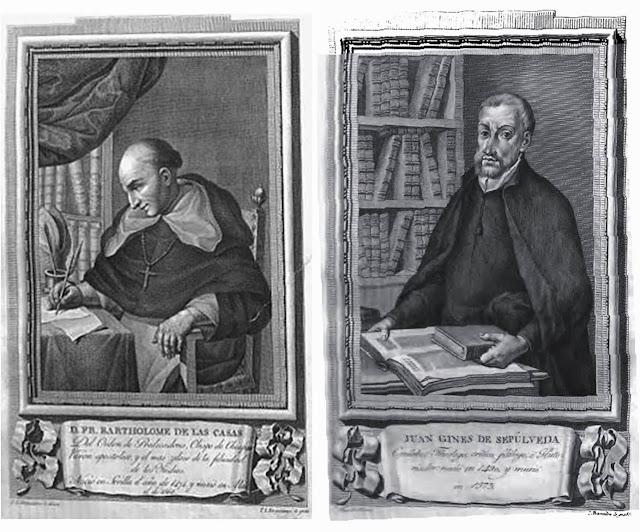Bartolomé de las Casas Juan Ginés de Sepúlveda