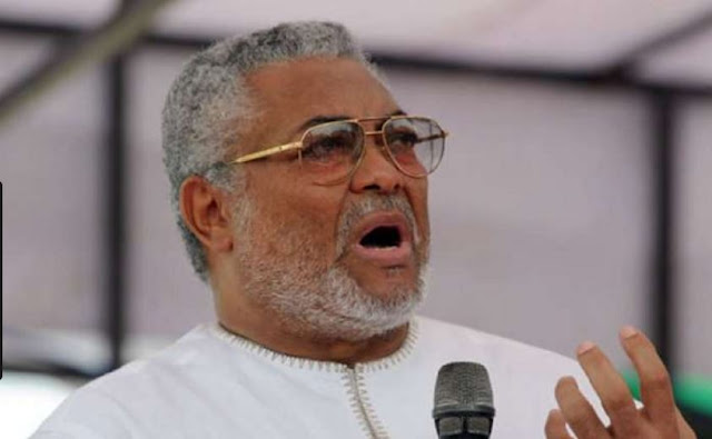 Jerry John Rawlings, former Head of State and President of Ghana, has said that Nigerians are still in love with their 'oppressors.    He stated this during a closed-door meeting with 2019 presidential aspirant, Omoyele Sowore, in Accra, Ghana.      A statement on Thursday by Rachel Onamusi-Kpiaisi, Director, PR, Media and Communications of the Sowore 2019 Campaign Organization, said both men spoke on a wide range of issues that bordered on youth and leadership in Africa, and about corruption and effective solutions to the menace.