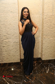 Actress Rakul Preet Singh Stills in Beautiful Blue Long Dress at Dhruva Salute to Audience Event  0096.JPG