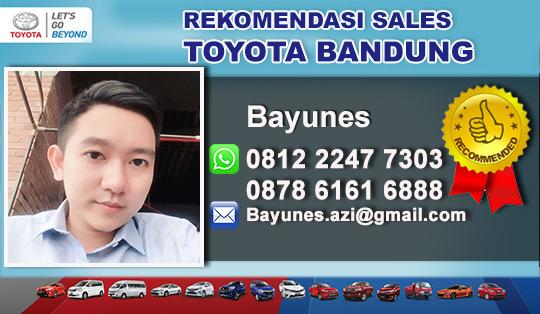 Rekomendasi Sales Tunas Toyota Gatot Sugbroto Bandung
