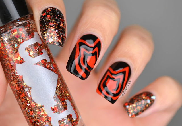 NAILS | Halloween Black Kitty Cats #CBBxManiMonday