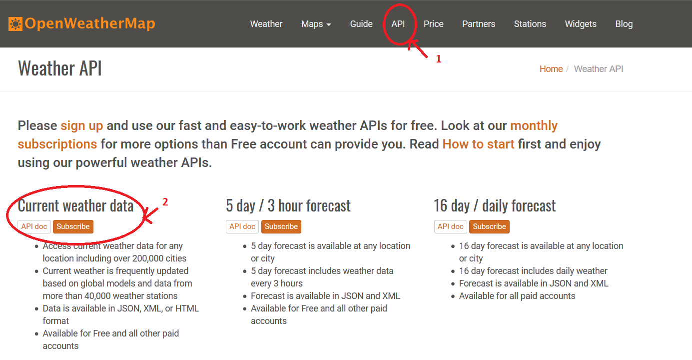 How to use XHR(Ajax) or Fetch API to create a simple weather