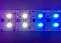 Scheda universale a Led RGB per pulsantiera citofonica