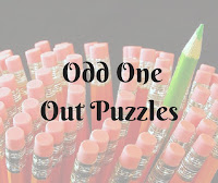 Odd One Out Puzzles