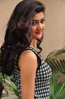 Actress Poojitha Stills in Short Dress at Silk Planet Fashion Expo Launch  0004