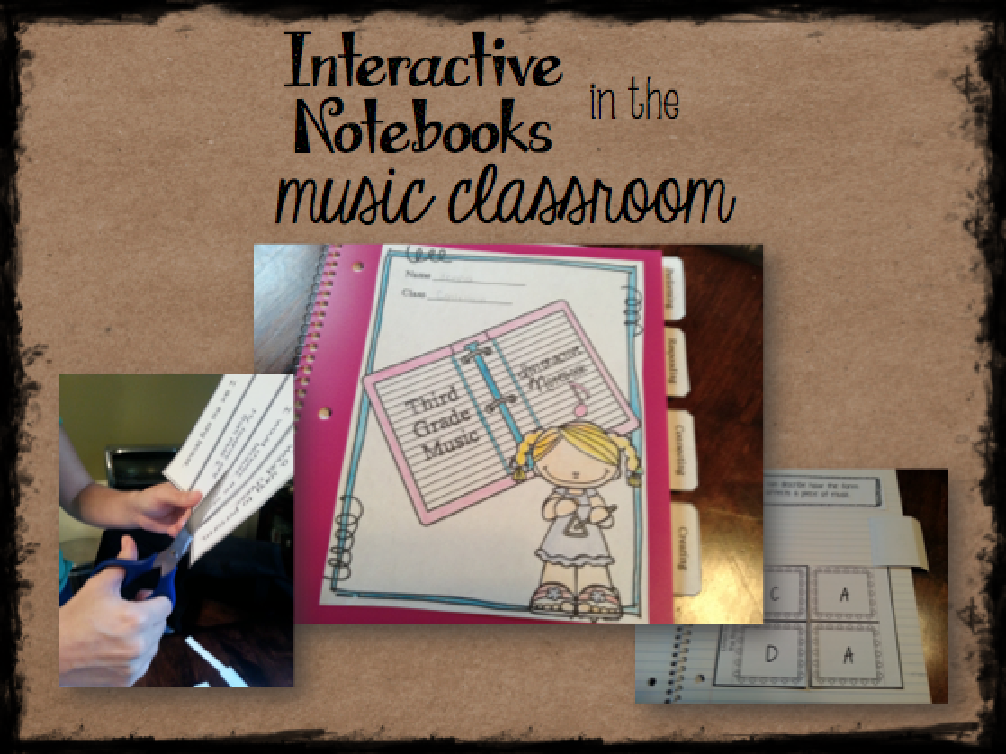 Interactive notebooks in the music room: Why and how to use them!