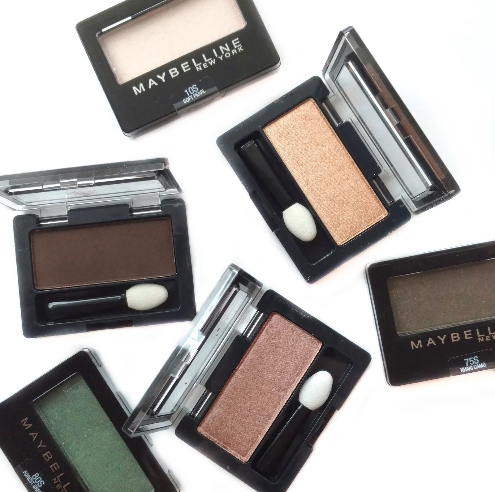 maybelline expert wear eyeshadow review