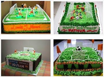 Foto Kue Ulang Tahun Bola Untuk Anak Laki Laki