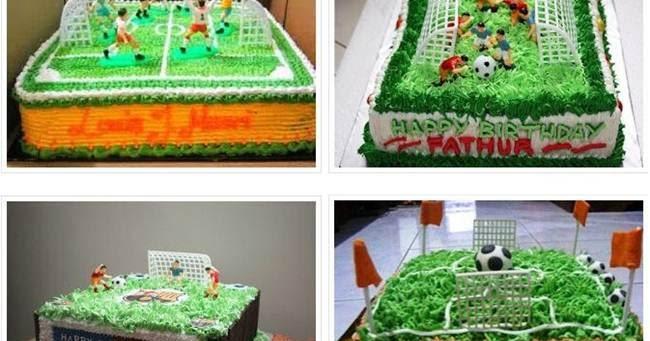 Koleksi Gambar Kue Asik Ulang Tahun Bola Untuk Anak Laki