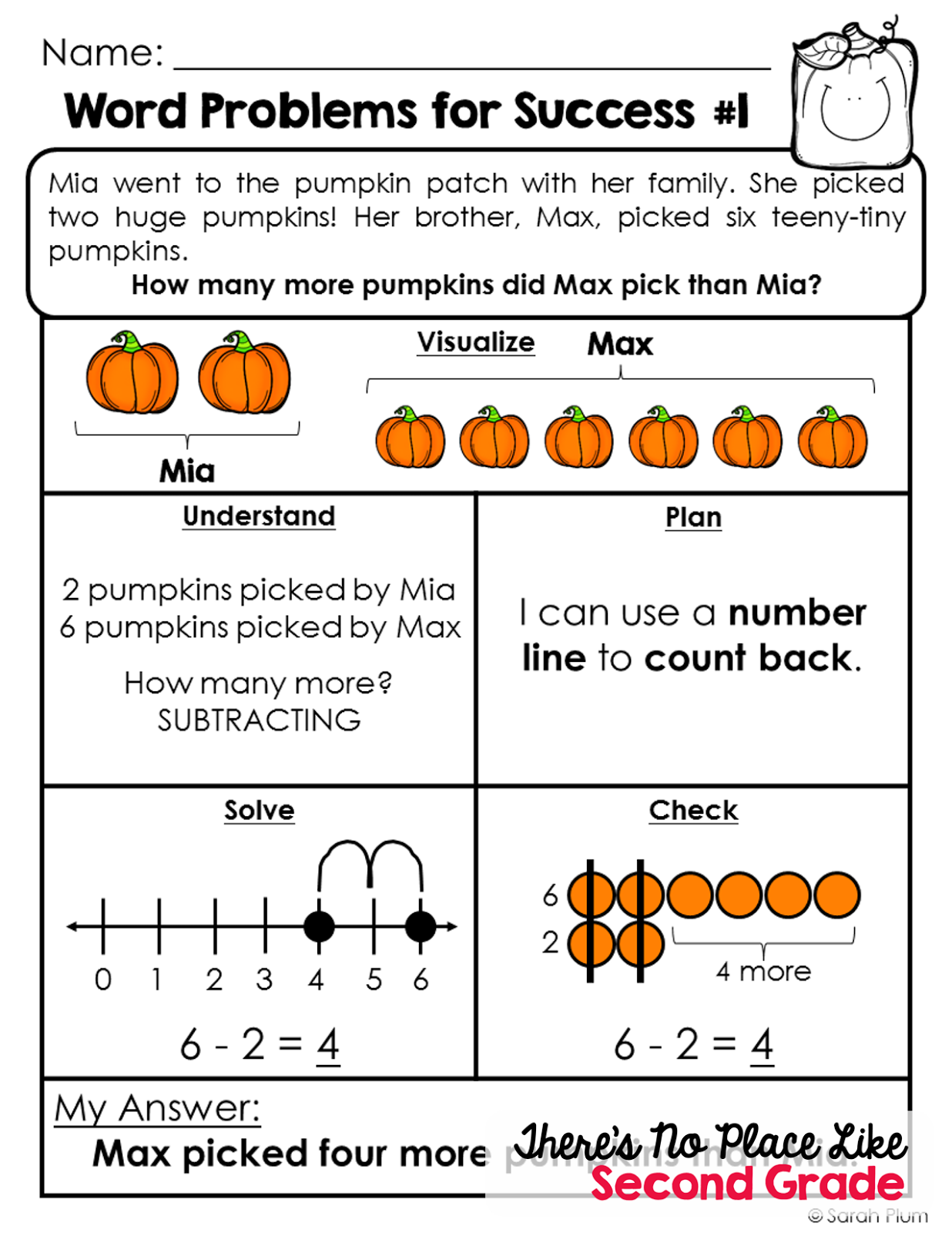 Worksheet 2 Step Story Problems getting festive for fall with virginia bloggers id love you to check out and enjoy one of these mini lessons let me know what think thanks stopping by a r