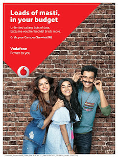 Vodafone presents the Campus Survival Kit - a college initiative to give students value for money packs and life hacks to save pocket money!