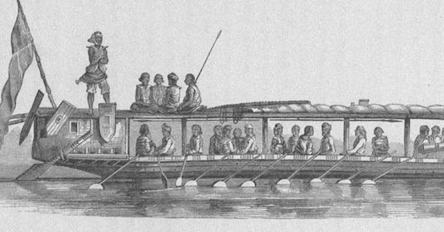 """Illanoan Pirates, c. 1800s."" Image source:  Wikiwand."