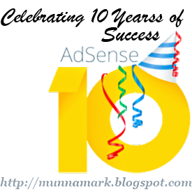 Celebration of One Decade of AdSense!