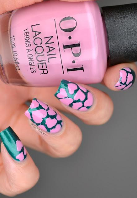Heart Nail Art