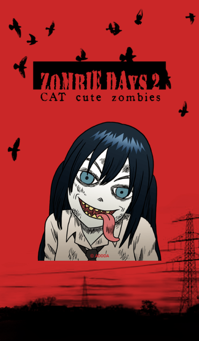 Zombie Days 2 CAT cute zombies