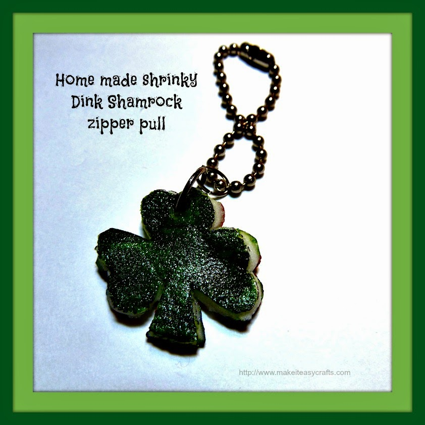 Recycled egg carton shamrock