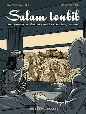 couverture de Salam Toubib de Dallanges et Védrines chez Delcourt