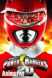 Power Ranger Forever Red -  2012 Poster