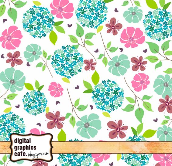 free scrapbook flower clipart - photo #13