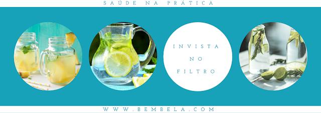 Invista em um filtro: A água filtrada pode ter um sabor melhor do que o líquido que sai da torneira ou da fonte de água. Então, invista em um sistema para sua pia de cozinha e para sua garrafa portátil.