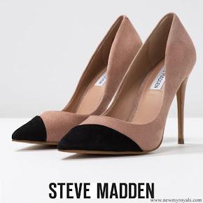 Queen Letizia wore Steve Madden Kvinna Dalia pumps