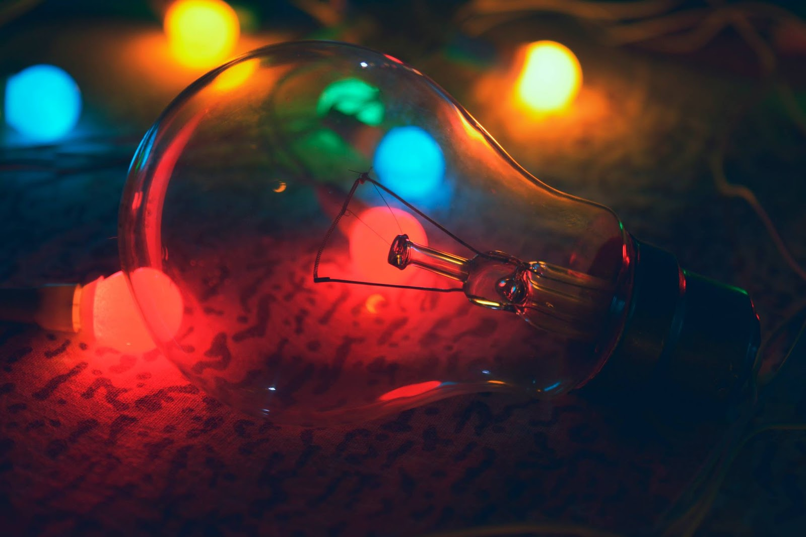 Colorful Light Night