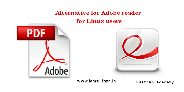 Evince an alternative for Adobe reader on Linux for PDF readers