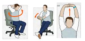 Tips Buat Yang Kerjanya Kebanyakan Duduk Di Kursi