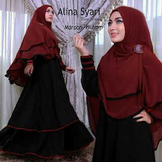 beli satu set busana syar'i wanita muslim