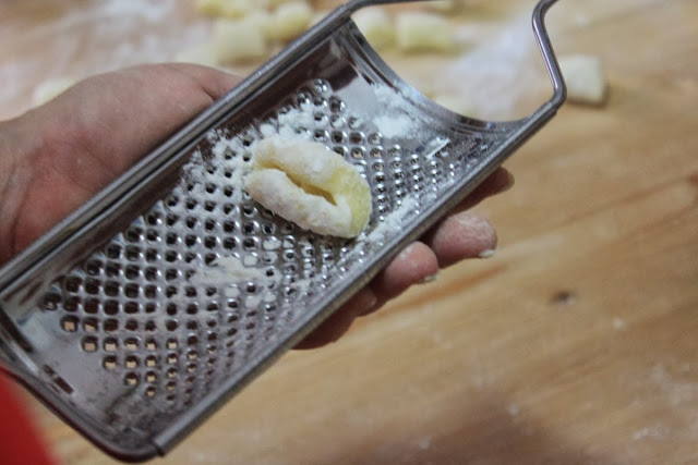 Potato Gnocchi at Mama Isa's Cooking Classes in Italy near Venice