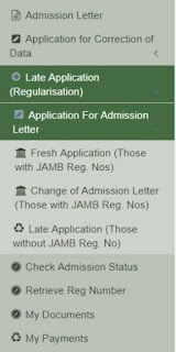 jamb regularization dashboard nysc direct entry