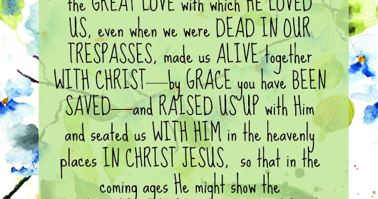 By His Grace Alone We Are Saved