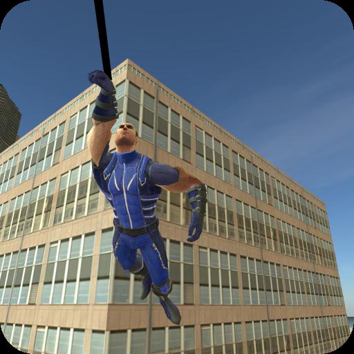 تحميل لعبه Rope Hero Revolution مهكره وجاهزه