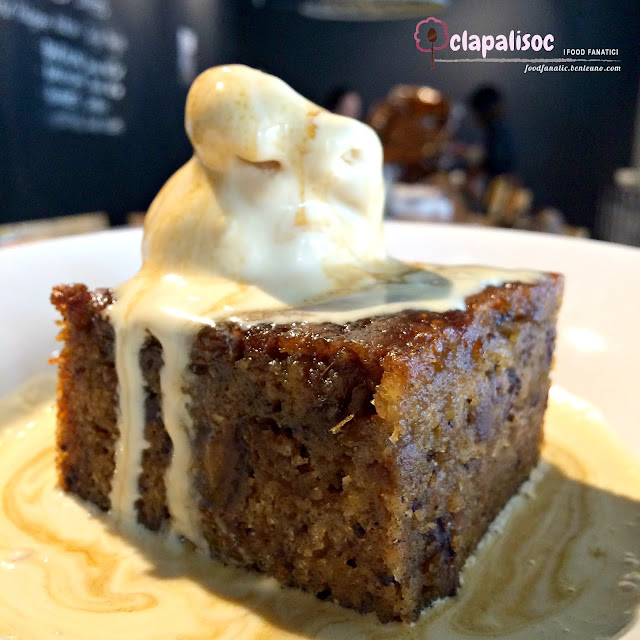 Sticky Toffee Pudding from Commune Cafe + Bar