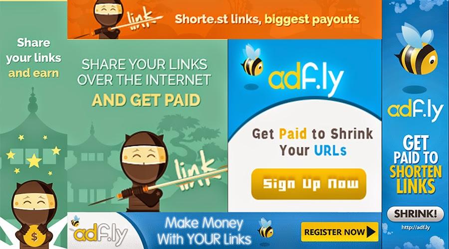الربح من اختصار الروابط, مواقع اختصار الروابط,شحن حساب بايونير, Ouoio vs Shortest vs Adfly