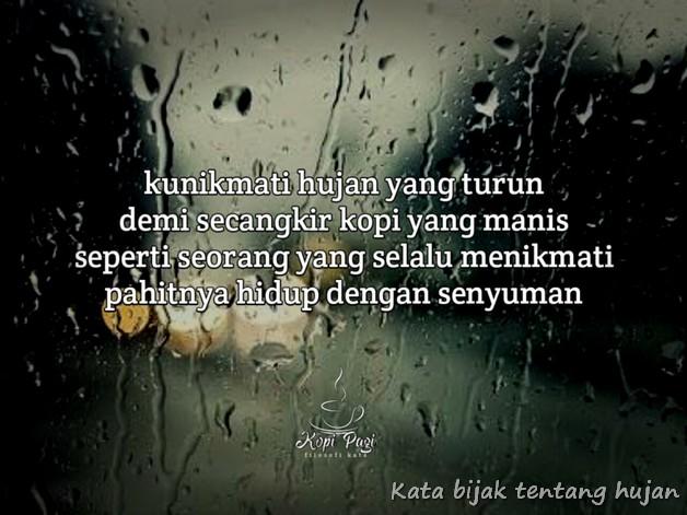 Kata Mutiara Hujan Deras Quotemutiara