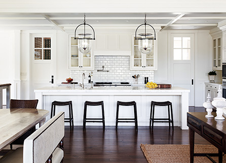 Decorated Mantel How To Choose The Right Bar Stools